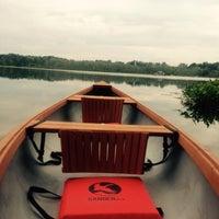 Photo taken at Sugarloaf Lake by Alyssa B. on 8/9/2015