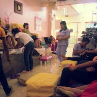 Photo taken at Nails & Lashes Corner by Rugie Beth A. on 5/1/2013