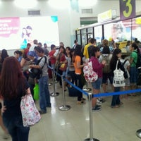 Photo taken at Phil. Immigration Counter - Clark Airport by Coco B. on 11/29/2012