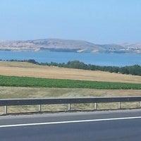 Photo taken at Çatalca by sezen y. on 7/4/2013