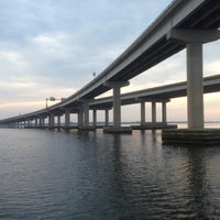 Photo taken at Neuse River Bridge by Pete F. on 5/17/2013