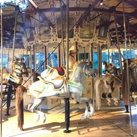 Photo taken at Congress Park Carousel by Montana P. on 6/19/2017