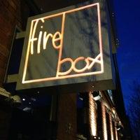 Photo taken at Firebox Restaurant by Bryan H. on 3/23/2013