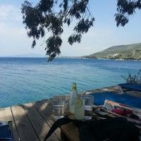 Photo taken at Rivera Beach Bar by Filippos V. on 5/6/2013
