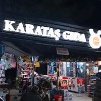 Photo taken at Karataş Market by Musa I. on 8/28/2013