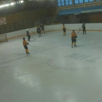 Photo taken at Talsu hokeja klubs (Talsi Ice Hockey club) by Deivids B. on 2/14/2015