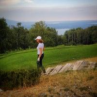 Photo taken at Golf Des Iles Borromees by Elisa R. on 6/22/2014