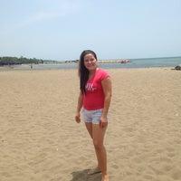 Photo taken at Playas Coveñas by Maria Jose H. on 7/25/2014