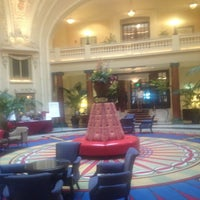 Photo taken at The Battle House Renaissance Mobile Hotel & Spa by Rob T. on 7/27/2013