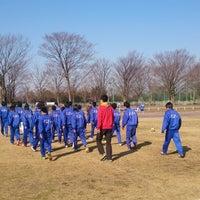 Photo taken at 白岡市総合運動公園 by Osamu S. on 3/23/2014