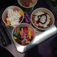 Photo taken at Monster Yogurt by Samantha R. on 8/28/2014
