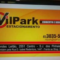 Photo taken at Nil Park Estacionamento by Silvana W. on 4/20/2016