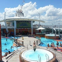 Photo taken at Royal Caribbean - Freedom Of The Seas by Brian M. on 9/1/2013
