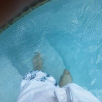 Photo taken at Toes N Pool by Topher A. on 9/14/2013
