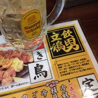 Photo taken at 肉屋鶏男 by 江東橋 on 8/12/2014