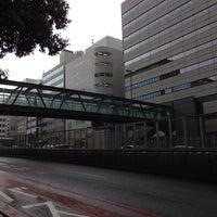 Photo taken at 希望の橋 (ブリッジ渋谷21) セルリアンタワー前歩道橋 by ひがぎん on 9/26/2013
