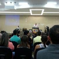 Photo taken at Igreja Nova Dimensão by Vinicius O. on 6/23/2013