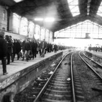 Photo taken at Paris Saint-Lazare Railway Station by Wee_bey on 3/19/2013