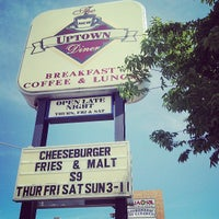 Photo taken at Uptown Diner by Mariah G. on 6/13/2013