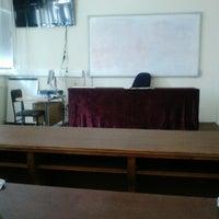 Photo taken at UGD kampus 2 Tehnolosko-tehnicki Fakultet by Katinka V. on 3/18/2014
