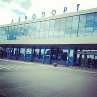Photo taken at Omsk Central International Airport (OMS) by Mary S. on 7/16/2013