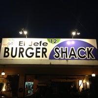 Photo taken at El Jefe Burger Shack by Berk T. on 5/2/2013