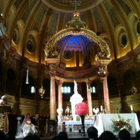 Photo taken at Église Saint-Jean-Baptiste by WiLL on 10/6/2012