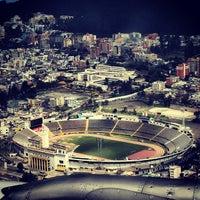 Photo taken at Estadio Olimpico Atahualpa by Camilo S. on 11/13/2012
