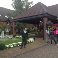 Photo taken at Donnington Valley Hotel & Spa by Eld S. on 9/30/2013
