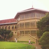 Photo taken at Vimanmek Mansion by Watcharee B. on 10/28/2012