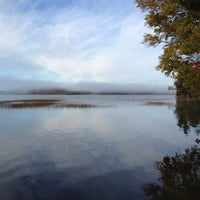 Photo taken at Algonquin Provincial Park - West Gate by Tim M. on 9/29/2012