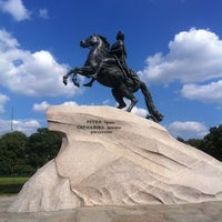 Photo taken at Bronze Horseman by Настена Д. on 7/31/2013