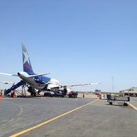 Photo taken at Aeropuerto Internacional Capitán FAP José A. Quiñones González (CIX) by Yuri F. on 3/26/2013