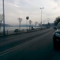 Photo taken at Emirgan Loca by Fikri D. on 1/28/2014
