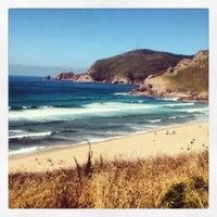 Photo taken at Praia Mar de fóra by David G. on 8/8/2013
