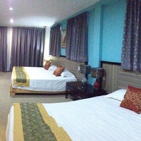 Photo taken at Hallmark View Hotel by Dann E. on 9/20/2015