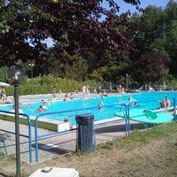 Photo taken at Piscina di Ferriere by Corinne on 8/3/2013