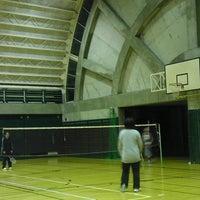 Photo taken at 石原なち子記念体育館 by hisashi o. on 3/7/2013