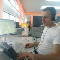 Photo taken at ICTV Newsroom by Максим П. on 8/29/2013