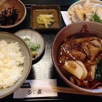 Photo taken at そば料理 正盛 by tama @. on 10/18/2014