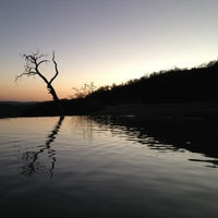 Photo taken at Hierve el Agua by Hilda on 12/29/2012