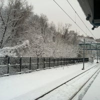 Photo taken at NJT - Port Imperial Light Rail Station by Rick C. on 2/3/2014