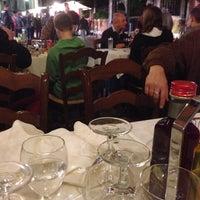 "Photo taken at Trattoria ""Da Gianni"" by Елена Г. on 10/31/2013"