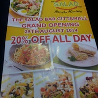 Photo taken at The Salad Bar by Mohd Faisal on 8/27/2014