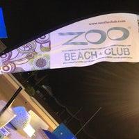 Photo taken at Zoo Beach Club by Dennis M. on 7/27/2013