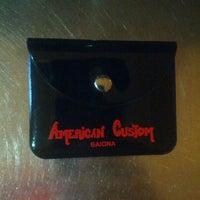 Photo taken at Cervecería American Custom by AmericanCustom B. on 12/20/2013