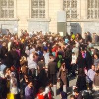 Photo taken at Panzdahe Khordad Metro Station by Prezaee on 10/31/2013