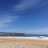 Photo taken at Avon Fishing Pier by michael b. on 10/17/2013