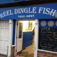 Photo taken at Reel Dingle Fish by Mo O. on 9/4/2013