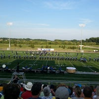 Photo taken at RCTC Stadium by Karyn S. on 7/1/2013